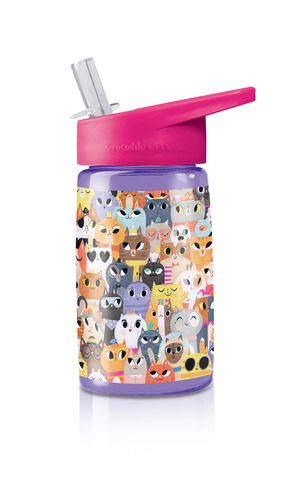 Cats Tritan Drinking Bottle picture