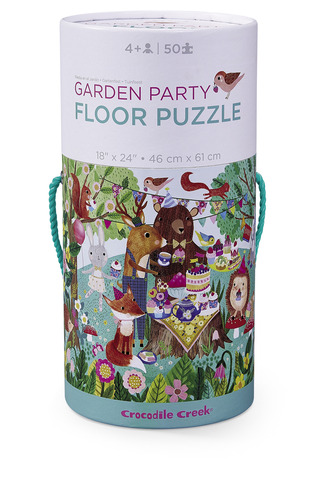 Garden Party Canister Floor Puzzle picture