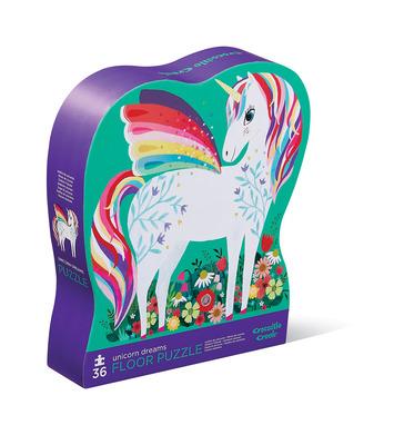 36-pc Puzzle/Unicorn Garden picture
