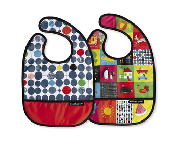 Kid's World Bib / Set of 2 / Travel Pouch picture