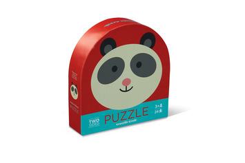 Panda Friends Two-Sided Puzzle picture