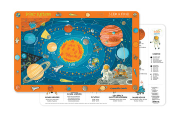 2-Sided Placemat/Solar System picture