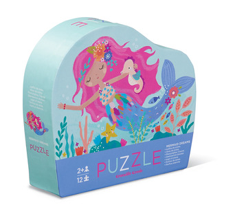 12-pc Mini Puzzle/Mermaid Dreams picture