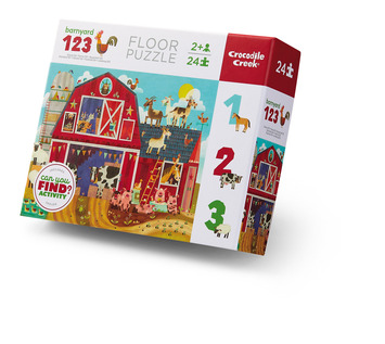 24-pc Early Learning / Barnyard 123 picture