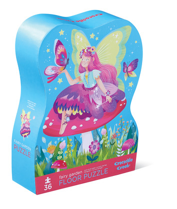Fairy Garden Shaped Puzzle picture