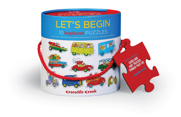 Let's Begin 2-pc Puzzles/Richard Scarry® Cars & Trucks picture