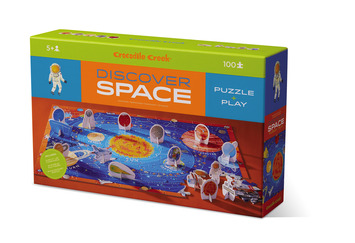 Discover Space Learn + Play Puzzle 100pc picture