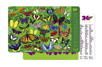 Butterflies Two-Sided Placemat picture