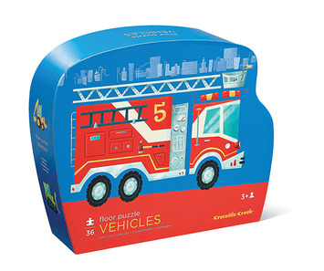 Vehicles Shaped Puzzle picture
