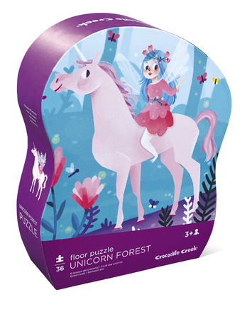 Unicorn Forest Shaped Puzzle picture