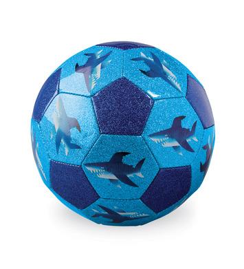 Size 3 Glitter Soccer/Shark City picture