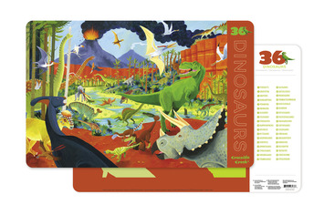 Dinosaurs Two-Sided Placemat picture
