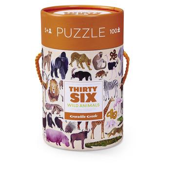 Wild Animals Thirty-Six Animals Puzzle picture