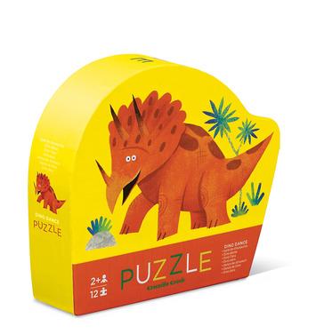 12-pc Mini Puzzle/Dino Dance picture