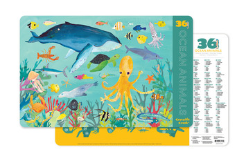 2-Sided Placemat/Ocean Animals picture