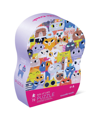 72-pc Puzzle/Lots of Cats picture