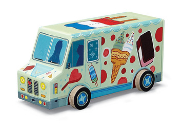 Ice Cream Truck Vehicle Puzzle picture