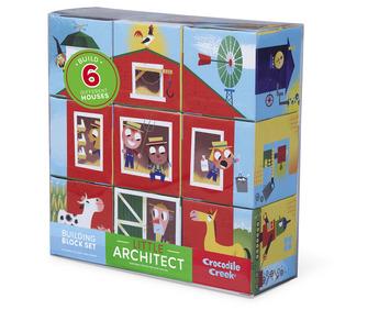 Boy Little Architect Jumbo Blocks picture