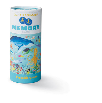 Canister Memory Game/Ocean Animals picture