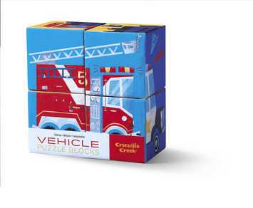 Vehicles Mini Block Puzzle picture