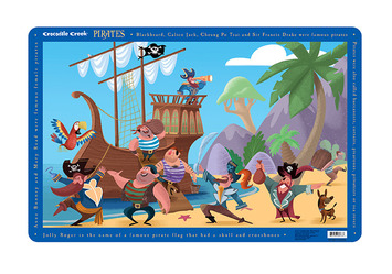 Pirates Placemat picture