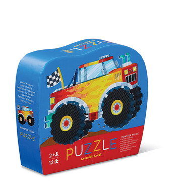 12-pc Mini Puzzle/Monster Truck picture