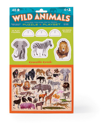 Pop Out & Play Set/Wild Animals picture