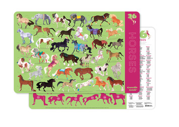 Horses Two-Sided Placemat picture