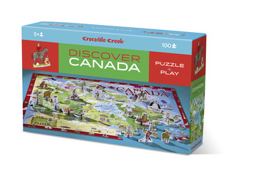 Discover Canada Learn + Play Puzzle 100pc picture