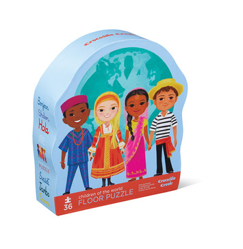 Children of the World Shaped Puzzle picture