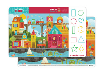 Shape Town Two-Sided Placemat picture