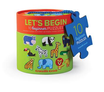 Let's Begin 2-pc Puzzles/Jungle - picture