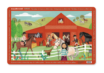 Horses Placemat picture