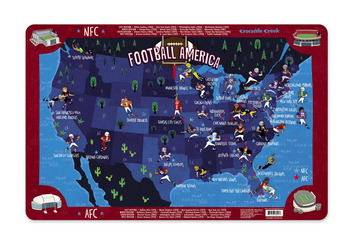 Football America Placemat picture