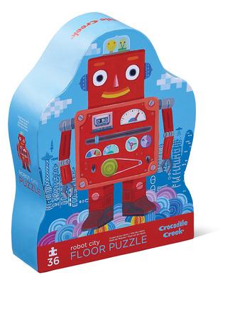 36-pc Puzzle/Robot City picture