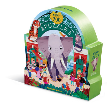 Zoo Day at the Museum Puzzle picture