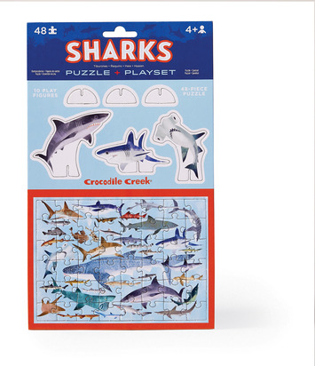 Pop Out & Play Set/Sharks picture