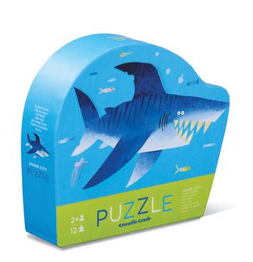 12-pc Mini Puzzle/Shark City picture