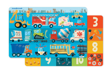 2-Sided Placemat/Busy City picture