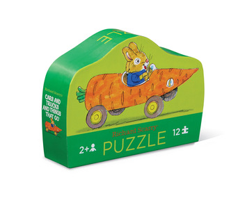 12-pc Mini Puzzle/Richard Scarry® Carrot Car picture