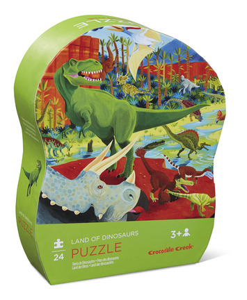 Land of Dinosaurs Mini Puzzle picture
