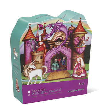 Princess Palace Shaped Puzzle picture