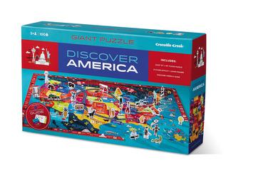100-pc Discover Puzzle/America picture