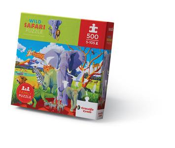500-pc Boxed/Wild Safari picture
