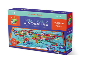 100-pc Discover Puzzle/Dinosaurs picture