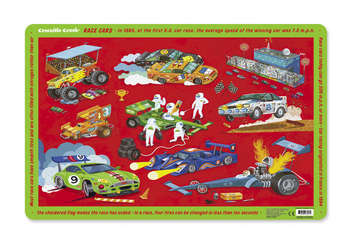 Race Cars Placemat picture