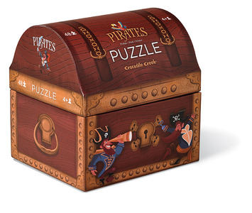 Pirate's Treasure Double Fun Puzzle picture