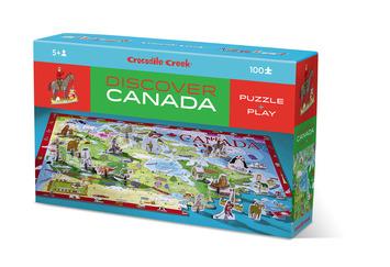 100-pc Discover Puzzle/Canada picture