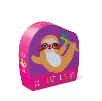 12-pc Mini Puzzle/Sweet Sloth picture