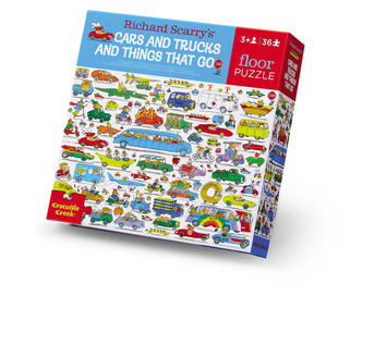 36-pc Puzzle/Richard Scarry® Cars & Trucks picture
